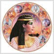 cross stitch pattern Cleopatra Circle (Right)