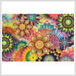 cross stitch pattern Colourful Abstract