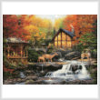 cross stitch pattern The Colors of Life (Large)