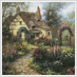 cross stitch pattern Cottage Garden (Crop)