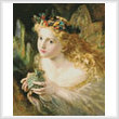 cross stitch pattern Take the Fair Face of Woman (Large)