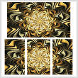 cross stitch pattern Fractal Abstract (Large)
