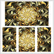 cross stitch pattern Fractal Abstract