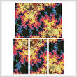 cross stitch pattern Fractal Abstract 2 (Large)