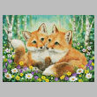 cross stitch pattern Fox Brothers