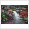 cross stitch pattern Garden Spring