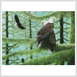 cross stitch pattern A Gathering of Eagles