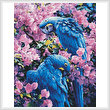 cross stitch pattern Hyacinth Macaws