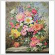 cross stitch pattern June Flowers in Radiance (Large)