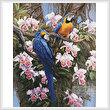 cross stitch pattern Jungle Majesty