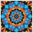 cross stitch pattern Kaleidoscope 2 (Crop)