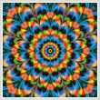 cross stitch pattern Kaleidoscope 1