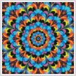 cross stitch pattern Kaleidoscope 2