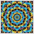 cross stitch pattern Kaleidoscope 3