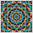 cross stitch pattern Kaleidoscope 4