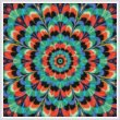 cross stitch pattern Kaleidoscope 5