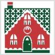 cross stitch pattern Little Christmas Cottage 3