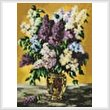 cross stitch pattern Lilac Bouquet