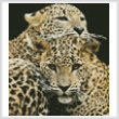 cross stitch pattern Leopards