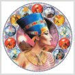 cross stitch pattern Nefertiti Circle (Right)
