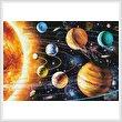 cross stitch pattern New Solar System