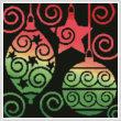 cross stitch pattern Ornaments