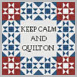 cross stitch pattern Quilt Block 1