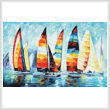 cross stitch pattern Sail Regatta