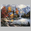 cross stitch pattern Space for Reflection (Large)