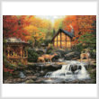 cross stitch pattern The Colors of Life