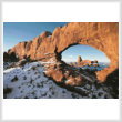 cross stitch pattern Turret Arch