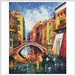 cross stitch pattern Venice Bridge (Large)
