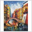 cross stitch pattern Venice Bridge (Large)