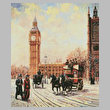 cross stitch pattern Westminster and Big Ben