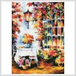 cross stitch pattern In the Garden Painting (Large)