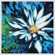 cross stitch pattern Lotus
