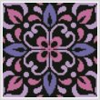 cross stitch pattern Ornamental Square 2