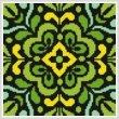 cross stitch pattern Ornamental Square 3