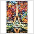 cross stitch pattern Paris of My Dreams (Large Crop)
