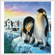 cross stitch pattern Penguins (Crop)