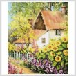 cross stitch pattern Summer Garden (Crop)
