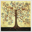 cross stitch pattern Abstract Tree of Life
