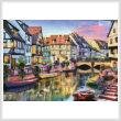 cross stitch pattern Colmar Canal