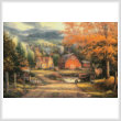 cross stitch pattern Country Roads Take Me Home
