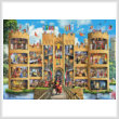 cross stitch pattern Castle Cutaway (Large)