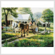 cross stitch pattern The Day of the Fair