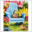 cross stitch pattern Easter Morning (Crop)