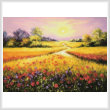 cross stitch pattern Fields of Gold