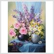 cross stitch pattern Floral Splendour
