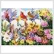 cross stitch pattern Garden Gossip